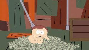 cartman billets dollars south park